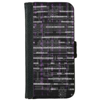 Mörk kodifierar cyberpunken inspirerade plånboksfodral för iPhone 6/6s