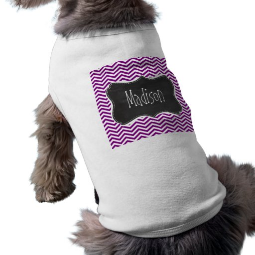 Mörk magentafärgad sparre; Retro svart tavla Hund Kläder