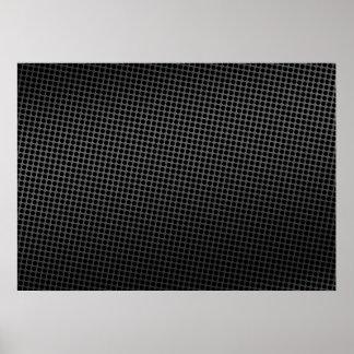 Mörk metallspisgaller poster