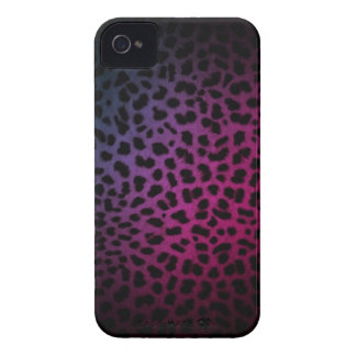 Mörk nattklubb inspirerad Leopardtryckiphone case iPhone 4 Case-Mate Skydd