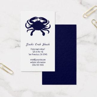 Mörk - restaurang för skaldjur för visitkort