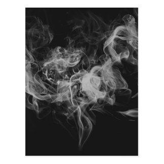 mörk röker vykort