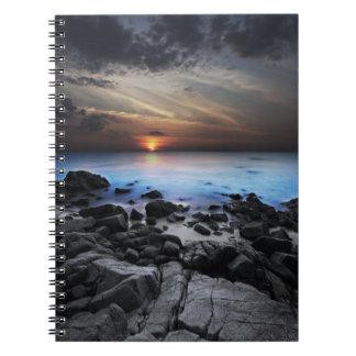 Mörk Seaview anteckningsbok