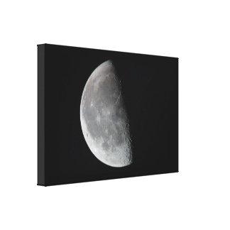 Mörk sida av månen kanvastryck