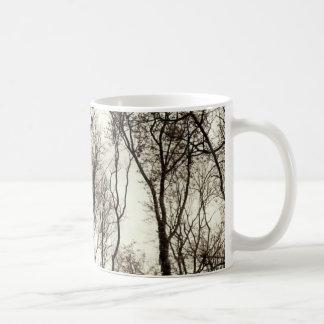 Mörk skog kaffemugg