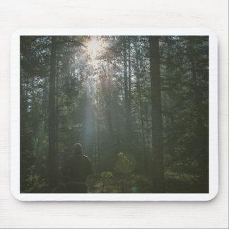 Mörk skog musmatta