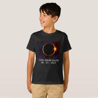 Mörk sol- T-tröja för förmörkelse 2017 T-shirt