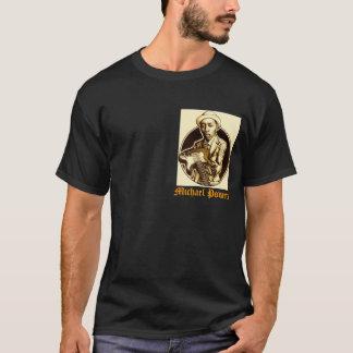 Mörk utslagsplatsdesign för ÖVERHET T Shirts
