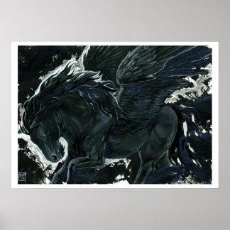Mörka Pegasus Poster