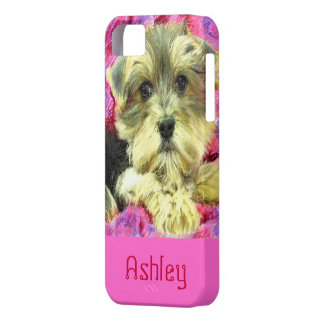 Morkie valpiphone case iPhone 5 cover