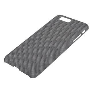 Mörksvart och polymer för fiber för kolgrå färgkol iPhone 7 plus skal