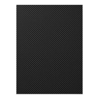mörkt mönster 16,5 x 22,2 cm inbjudningskort
