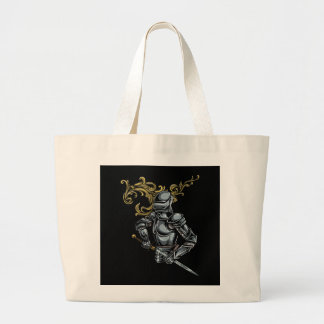 Mörkt riddarepansar jumbo tygkasse
