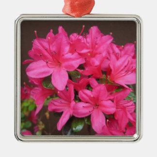 Mörkt rosa slut för Azalea Julgransprydnad Metall