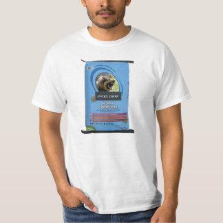 Mörkt välde av den ilskna Chowskjortan för T-shirts
