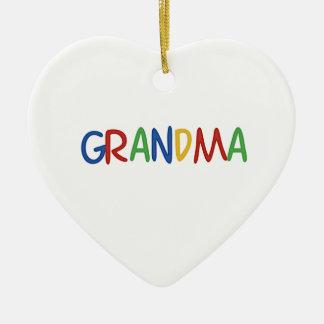 Mormor Julgransprydnad Keramik