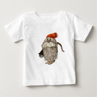 Mormorjul Tomten med den gråa katten T Shirt