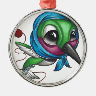 Mormorsurrfågel Julgransprydnad Metall