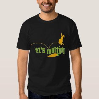 morötter & kanin t shirts