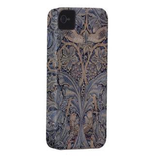 Morris kål- och Vinetapestry iPhone 4 Fodral