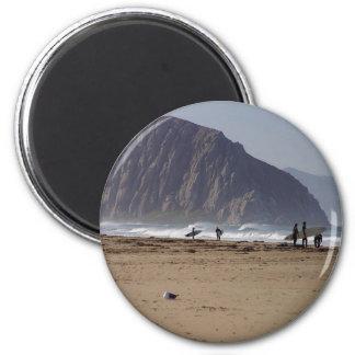 Morro sten sätter på land surfarear magnet