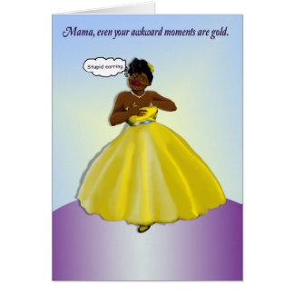 Mors dag 2016: Du är guld- Hälsningskort