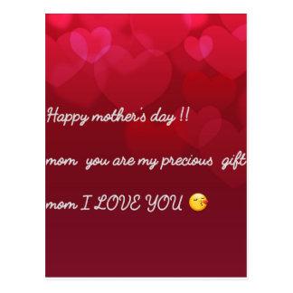 mors daghälsning vykort