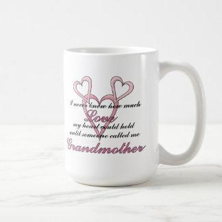 Mors dagmugg för farmor (jag aldrig visste) kaffemugg