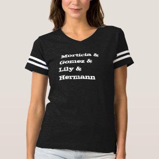 Morticia & Gomez & lilja & Hermann T Shirts