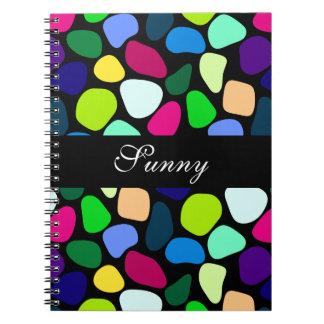 Mosaik för färgadlägenhetsten mig + dina idéer anteckningsbok