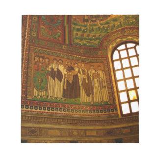 Mosaik och fönster anteckningsblock