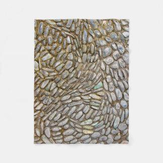 Mosaisk ullfilt för sten fleecefilt