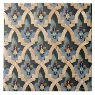 Mosaisk vägg, Hassan II Moské-Casablanca Stor Kakelplatta