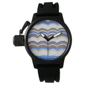 Mosaiska manar för blått klocka