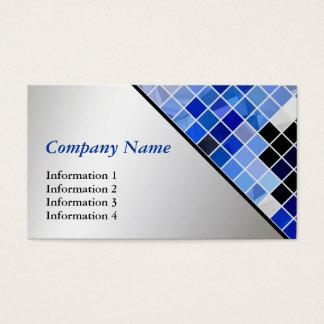 Mosaiska mönstervisitkortar för modern teknologi visitkort