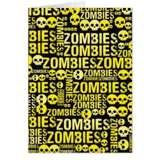 Mosaiska Zombies Hälsningskort