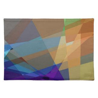 Mosaiskt mönster för abstrakt Cubism Bordstablett