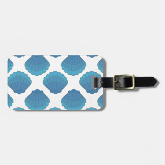 Mosaiskt mönster för blåttsnäckskal bagagebricka