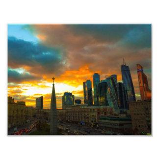 Moscow i Ryssland Fototryck