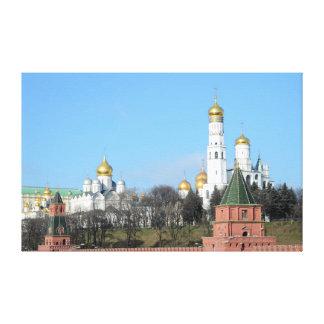 Moscow Kremlin kanvastryck
