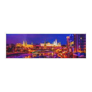 Moscow Kremlin panorama Canvastryck