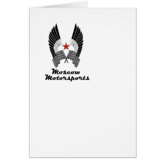 MOSCOW MOTORSPORTS HÄLSNINGSKORT