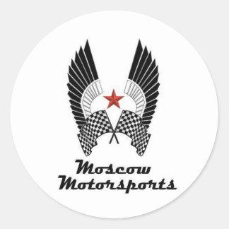 MOSCOW MOTORSPORTS RUNT KLISTERMÄRKE