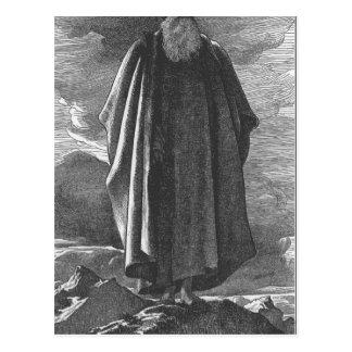 Moses beskådar det lovade landet av Frederic Vykort