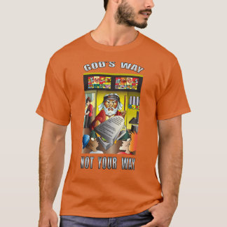 Moses sanningstecknad t shirt