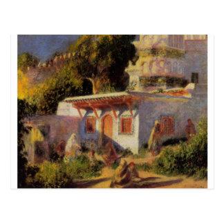 Moské i Algiers vid Pierre-Auguste Renoir Vykort
