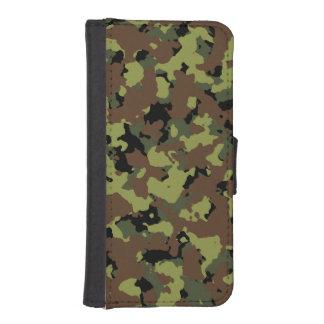 Moss gröna militära Camo iPhone SE/5/5s Plånbok
