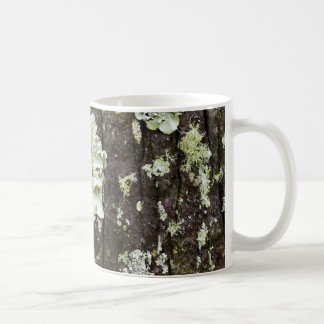 Mossy mugg för Oakstamkaffe