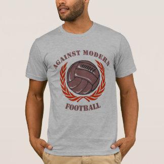 Mot den moderna fotbollskjortan tee shirts