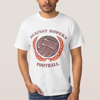 Mot den moderna fotbollT-tröja Tee Shirts